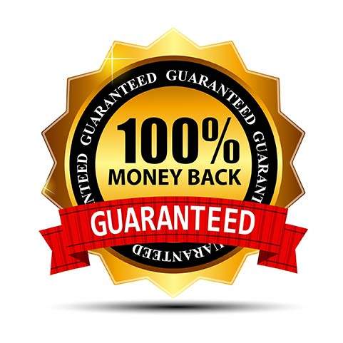 90 money-back guarantee on natural aftershave lotion