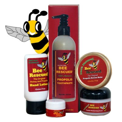 Propolis Skincare for Face and Eyes - Bee Rescued Propolis Care